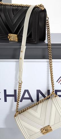 深V时尚立体斜纹缝线 16年新版le boy chanel香奈儿包包 鹿皮+牛皮A67086