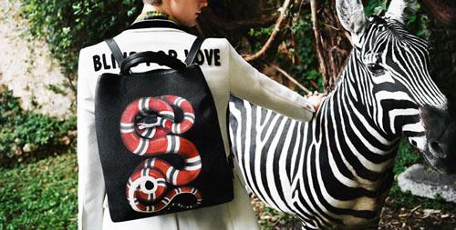 充满梦幻感2016节日礼品系列动物元素gucci包包时尚大片