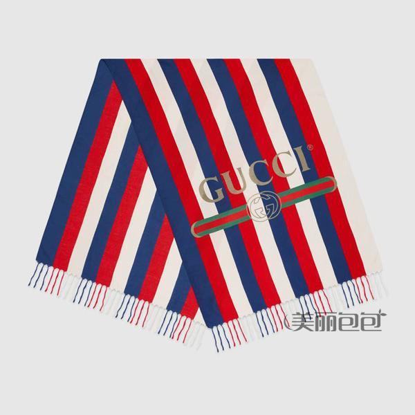 红白蓝彩色纹的gucci baiadera包包款式大全