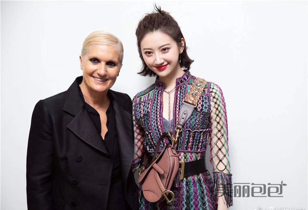 巴黎Dior高订秀的景田 这次穿的好惊艳