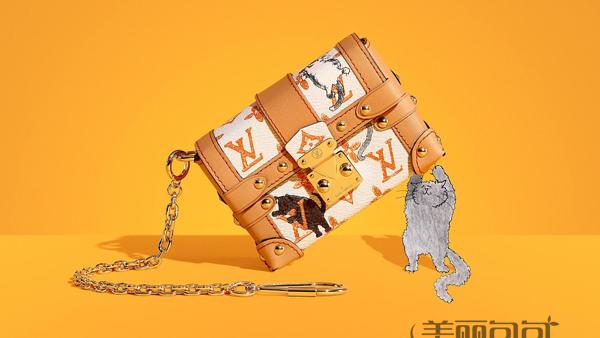 lv猫咪包来了 时髦可爱的联名款 你受得了吗?