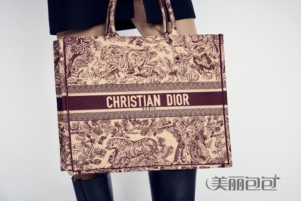 Dior book tote帆布手袋款式大全