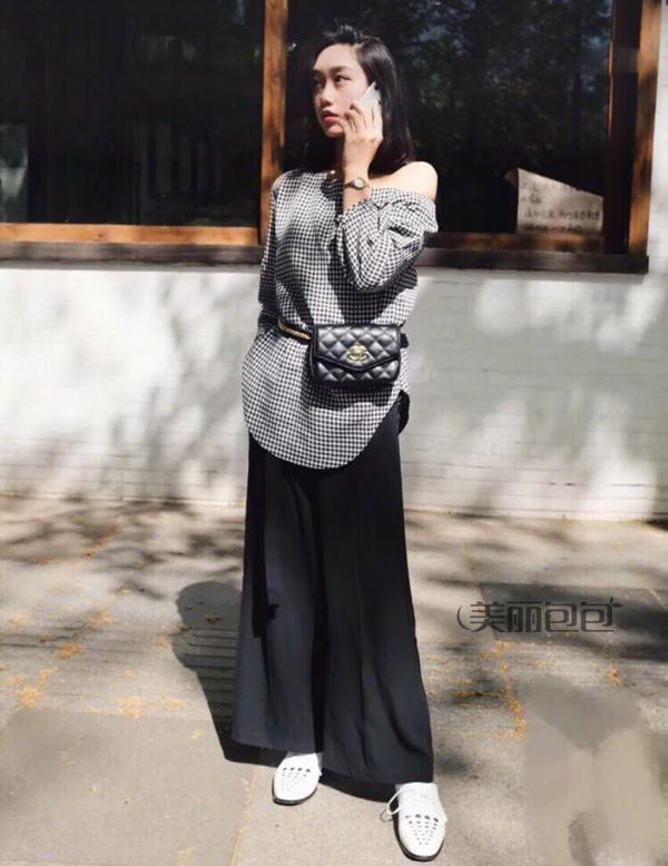 作为一个时髦女人 怎么能没有一只香奈儿腰包?