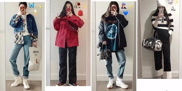深圳高仿香奈儿包包 爱包女孩欧阳娜娜 最近爱背哪些品牌的包包
