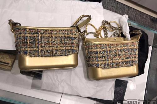 香奈儿2019秋冬系列 推出了哪些奢华风的金色包包?