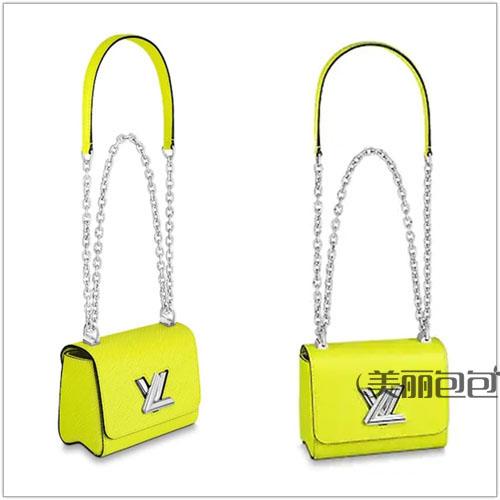 lv twist锁扣包2020春夏新款图片价格与造型