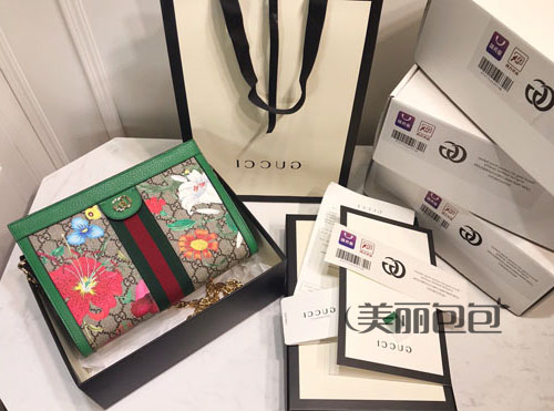 gucci ophidia花卉系列哪款包最美?款式图片与价格?