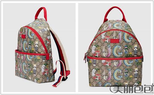 gucci 2020印花儿童包 带你走进古驰樋口裕子奇幻世界
