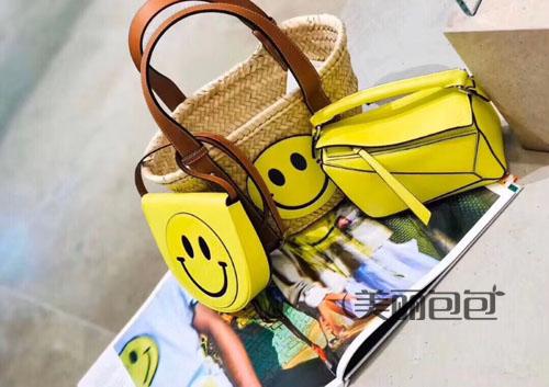充满度假风的罗意威草编包包 有哪些款式?