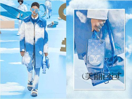 夏季清凉色包包 喜欢lv蓝天白云色还是迪奥仙女灰?