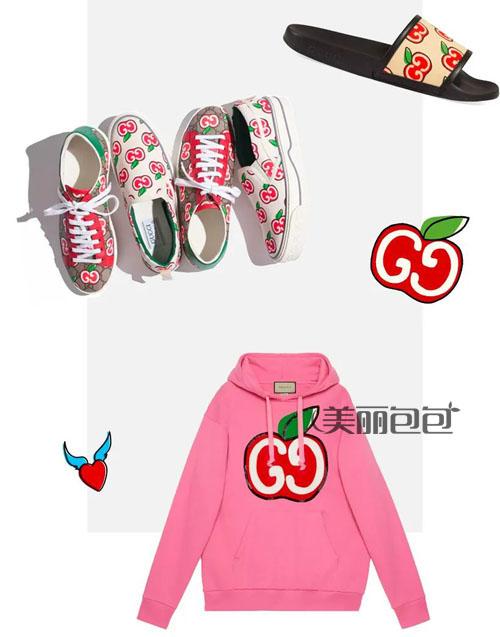 赵露思的七夕礼物 苹果花纹古驰包包香不香?