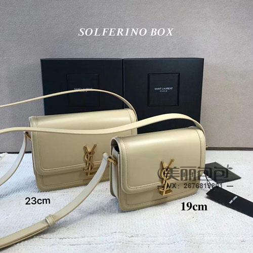 ysl新款solferino box豆腐包开箱评测 颜色尺寸价格