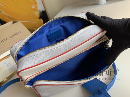 lv nba联名胶囊系列邮差包相机包怎么样?最新开包评测