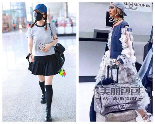 金晨 金莎 萧亚轩明星街拍包包 看看有没有你喜欢的?