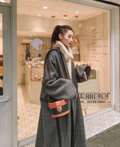lisa 欧阳娜娜同款 思琳tambour圆筒盒子包化妆包评测