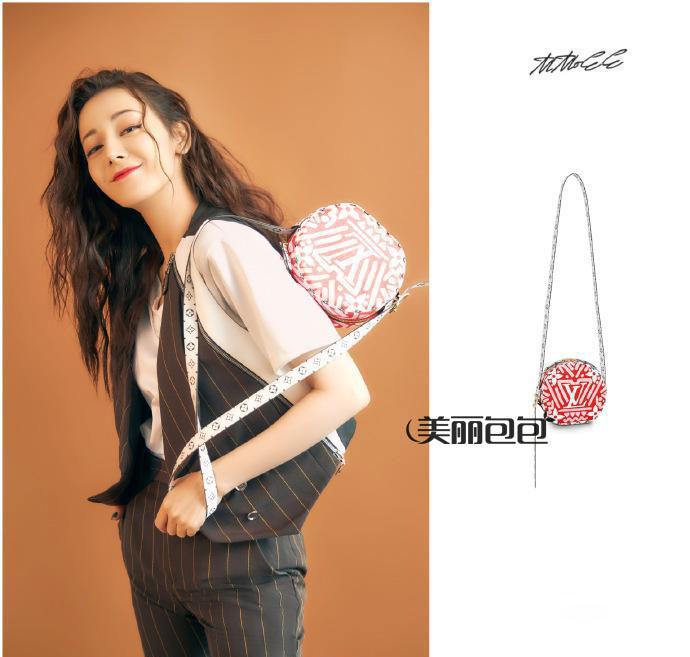 迪丽热巴才是lv女郎 这些街拍新包包你喜欢吗?