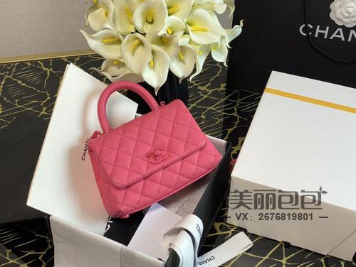 香奈儿经典款coco hander推出迷你包了 有哪些色彩?