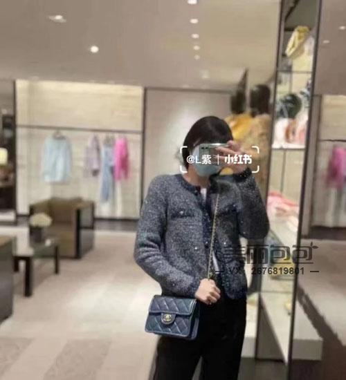 解锁成功 香奈儿2021春夏新款最美CF豆腐包