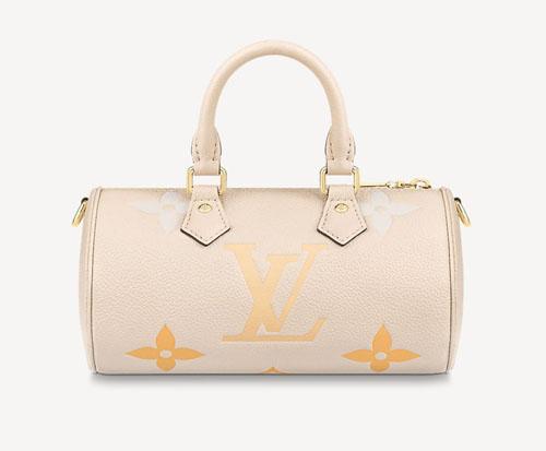 lv2021夏日新款PAPILLON BB三合一迷你枕头包 粉色渐变美腻了