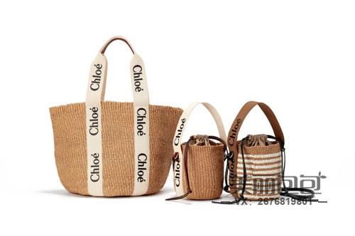 夏天流行的草编包 还有chloe Woody Basket系列