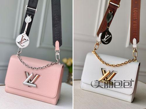 原来lv也这么多好看的链条包 这是要和香奈儿抢风头吗?