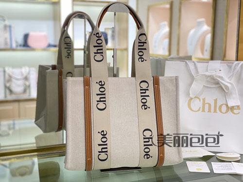 今年夏天新款帆布tote包 chloe这2款亮了!