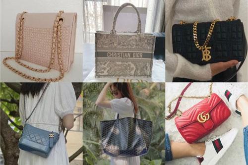 达人晒包 tote包链条包都有 很多人都会喜欢这几款