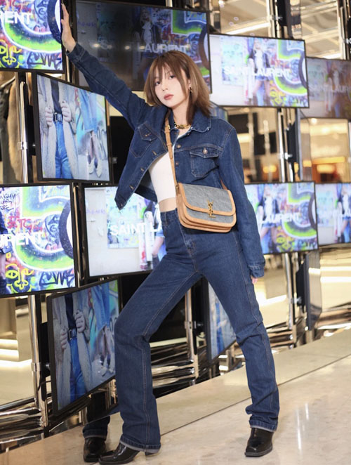 大玩丹宁风的圣罗兰 这三款ysl牛仔布包 你喜欢吗?