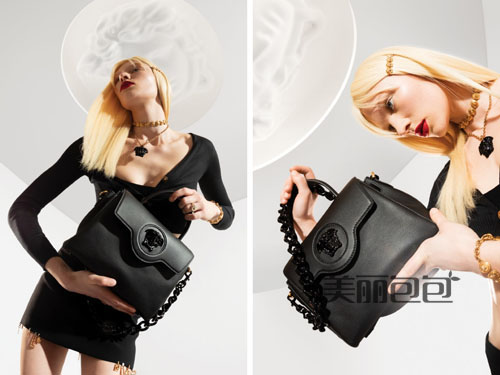 Versace La Medusa手提包 这次范思哲的色彩很诱人!