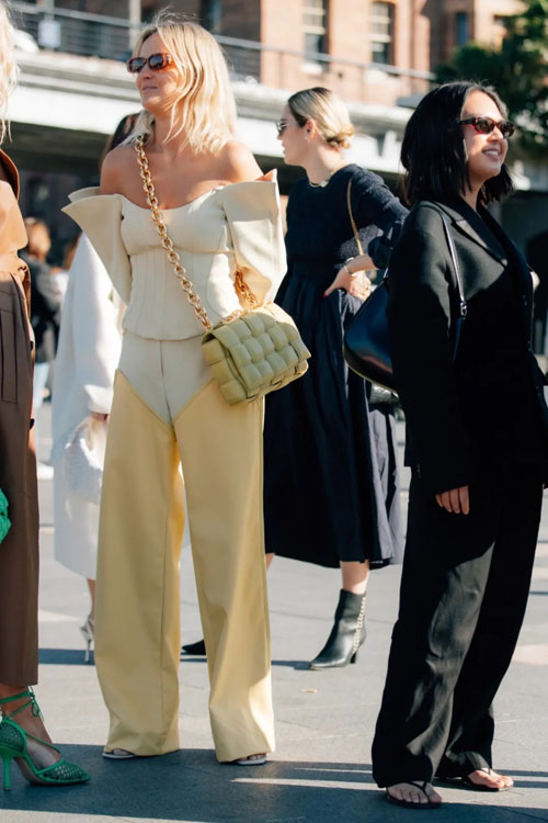 最新街拍合辑 bv dior lv包哪些女包出镜高频率?