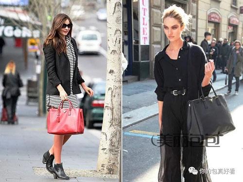 今年普拉达重新推出杀手包 整个时尚圈明星都在搭配!