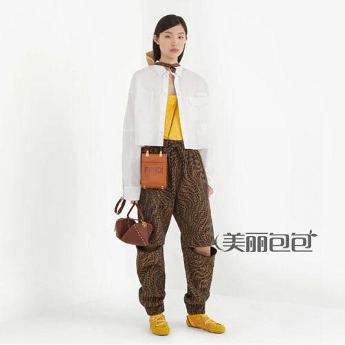 fendi sunshine玳瑁手提袋怎么样?新款评测!