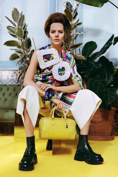 艺术家合作款的罗意威2021秋冬系列女包 你喜欢哪款?