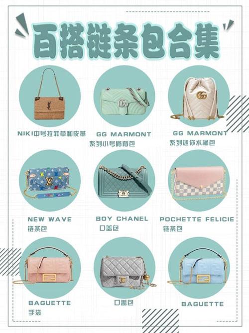 三伏天如何搭配清凉?5个奢侈品牌链条包款式合集