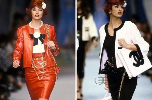 你喜欢的时髦复古包 90年香奈儿时装秀全都有