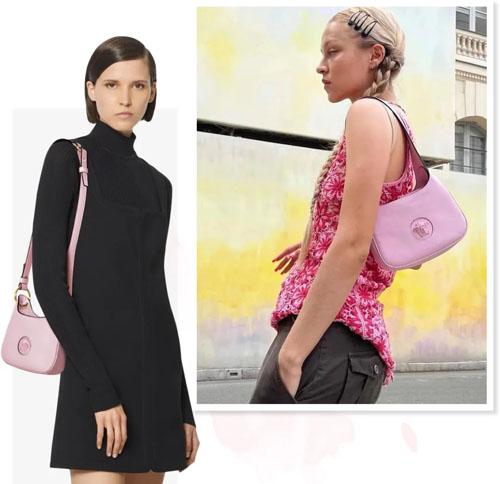 沈梦辰同款Versace La Medusa Hobo 色彩美的让你挪不开眼!