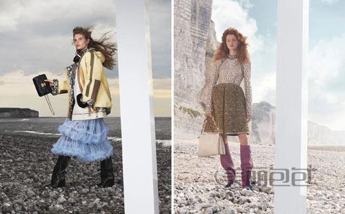 lv官网更新 2021秋冬时装秀系列 建筑美学的女包来了