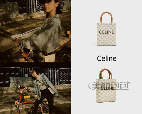 明星晒包 周雨彤平时爱搭配哪些大牌包包?