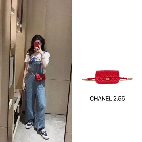 明星私服 张子枫 欧阳娜娜最近爱背什么包包?