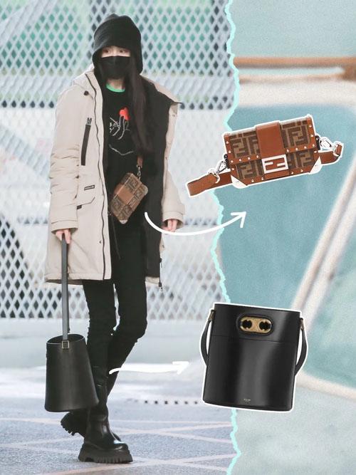 杨幂太会穿了!近期街拍私服 同款包包合辑