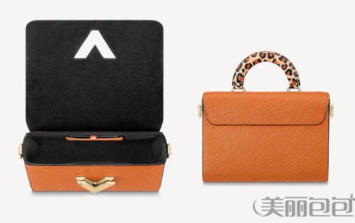 包包搭配 豹纹手提的lv twist锁扣包 时尚又高级