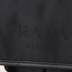 普拉达Prada 时尚休闲帆布系列 男士单肩/斜挎包 VA0769B黑