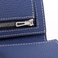 Hermes 3 flod wallet三折钱夹 原版手掌纹牛皮爱马仕钱包A308