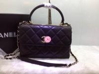 香公主范复古Trendy CC包 黑色原版羊皮海外订制新款92236