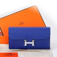 Hermes Wallet原版牛皮手掌纹H扣翻盖钱包手拿包A909