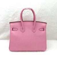 25cm Hermes Birkin迷你版 樱花粉色爱马仕铂金包