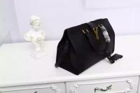 YSL圣罗兰新版手提包 黑色胎牛皮 正品最优311210 311208