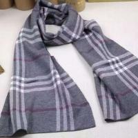 巴宝莉Burberry情侣款 格纹羊绒围巾