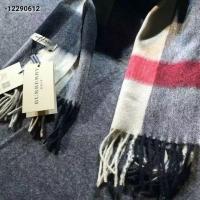 巴宝莉Burberry最优大格新款 时尚百搭 纯羊绒长围巾