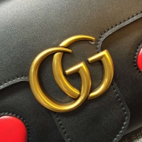 gucci Animalier双G扣链条包 爱心图案 境外最优